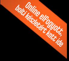 Online-elfogyott