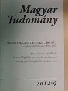 Bugyi Beáta - Magyar Tudomány 2012/9. [antikvár]