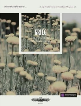 GRIEG - 'ARIETTA' FROM LYRIC PIECES BOOK 1  FOR PIANO SOLO