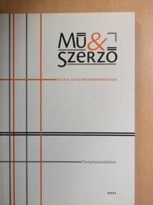 Balázs Debóra - Mű & Szerző - Fiatal kutatók konferenciája [antikvár]