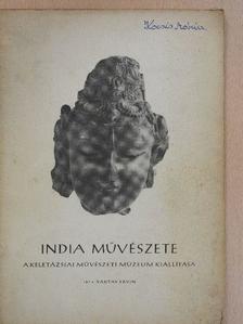 Baktay Ervin - India művészete [antikvár]