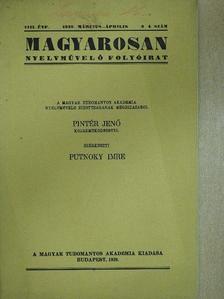 Csengery János - Magyarosan 1939. március-április [antikvár]