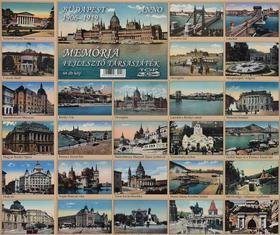 .- - Memóriafejlesztő társasjáték - Budapest Anno 1906-1919