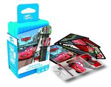 Cartamundi - Shuffle - Disney Cars autóversenyzős kártya játék
