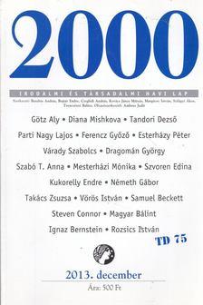 Bojtár Endre - 2000 folyóirat 2013. 25. évf. 12. szám december [antikvár]