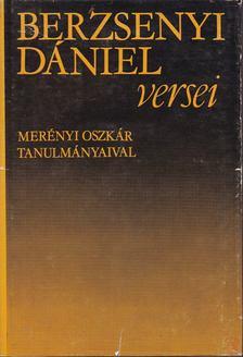 BERZSENYI DÁNIEL - Berzsenyi Dániel versei [antikvár]
