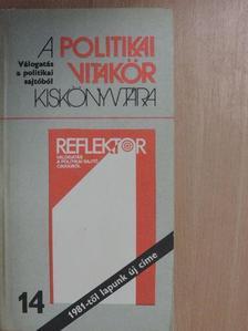 Almási Miklós - A politikai vitakör kiskönyvtára 14. [antikvár]