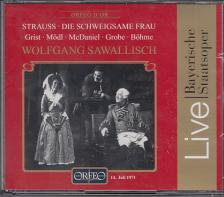 STRAUSS... - DIE SCHWEIGSAME FRAU CD