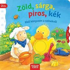 Ina Milk - Zöld, sárga, piros, kék - Első könyvem a színekről