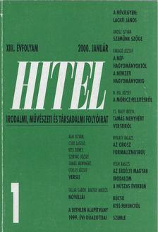 Csoóri Sándor - Hitel 2000. január [antikvár]
