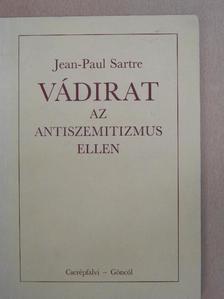 Jean-Paul Sartre - Vádirat az antiszemitizmus ellen [antikvár]