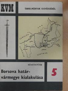 Németh Péter - Borsova határvármegye kialakulása [antikvár]