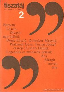 Vörös László - Tiszatáj 1977. február 31. évf. 2. [antikvár]