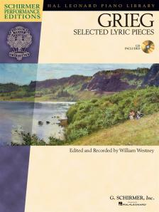 GRIEG - SELECTED LYRIC PICES + CD (ED. AND REC. W. WESTNEY)