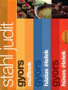 Stahl Judit - Gyors sorozat - Muffinok, házias ételek, húsos ételek - díszdoboz