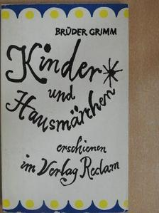 Grimm-testvérek - Kinder- und Hausmärchen [antikvár]