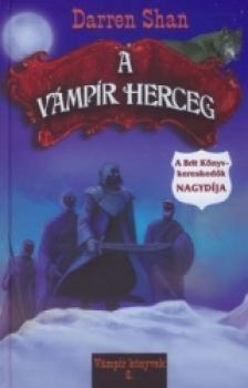 Shan Darren - A vámpír herceg 4.kiadás