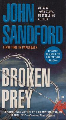 John Sandford - Broken Prey [antikvár]