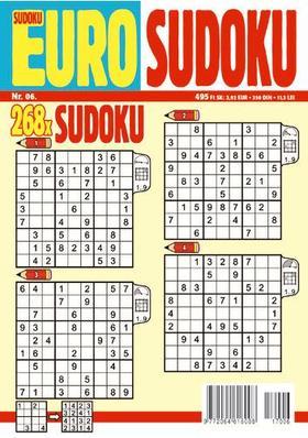 CSOSCH KIADÓ - EURO Sudoku 2017/6