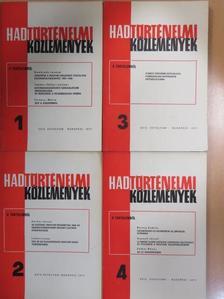 Bánkuti Imre - Hadtörténelmi Közlemények 1977/1-4. [antikvár]