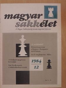 Forintos Győző - Magyar Sakkélet 1984. december [antikvár]