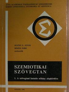 Csúri Károly - Szemiotikai szövegtan 1. [antikvár]