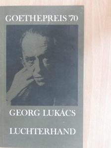 Frank Benseler - Goethepreis '70 [antikvár]