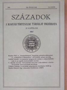 Binder Pál - Századok 1992/3-4. [antikvár]