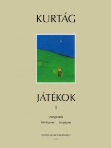 KURTÁG - JÁTÉKOK I ZONGORÁRA