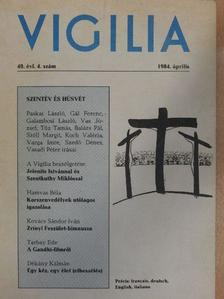 Balázs Pál - Vigilia 1984. április [antikvár]