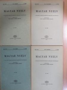 Bakos József - Magyar Nyelv 1973/1-4. [antikvár]