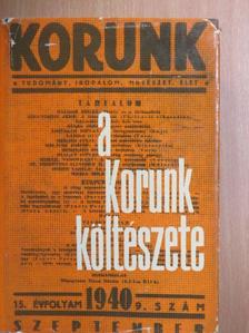 László Gyula - A Korunk költészete [antikvár]