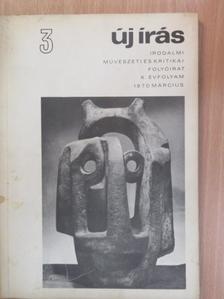 Apor Péter - Új írás 1970. március [antikvár]