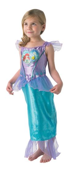 .- - Rubies Ariel kis hableány szivecskés jelmez L