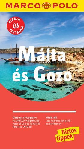 762201f8de MÁLTA ÉS GOZO - Marco Polo - ÚJ TARTALOMMAL!