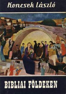 KONCSEK LÁSZLÓ - Bibliai földeken [antikvár]
