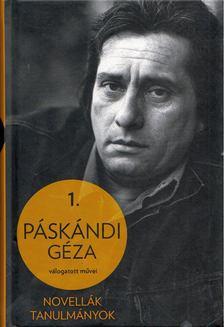 Páskándi Géza - Novellák, tanulmányok [antikvár]