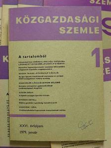 Botos Katalin - Közgazdasági Szemle 1979. (nem teljes évfolyam) [antikvár]