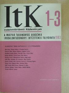 Balázs Mihály - Irodalomtörténeti Közlemények 1983/1-3. [antikvár]
