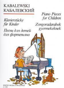 KABALEVSZKIJ - ZONGORADARABOK GYERMEKEKNEK