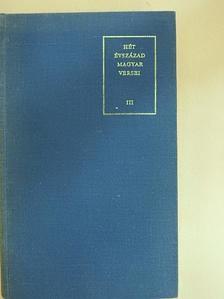 Barkó Sándor - Hét évszázad magyar versei III. (töredék) [antikvár]