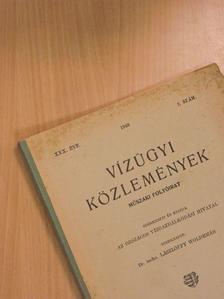 Csehily Géza - Vízügyi Közlemények 1948/2. [antikvár]
