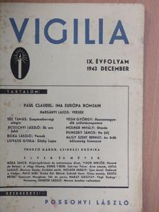Antal László - Vigilia 1943. december [antikvár]