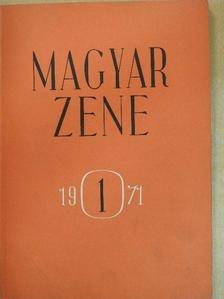 Bónis Ferenc - Magyar Zene 1971/1. [antikvár]
