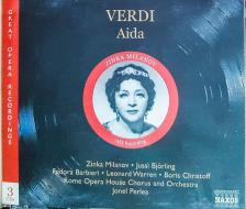 Verdi - AIDA 3CD PRLEA, MILANOV, BJÖRLING (1955)
