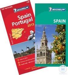 Michelin - Spanyolország útikönyv ajándék Spanyolország-Portugália - 2013. térképpel