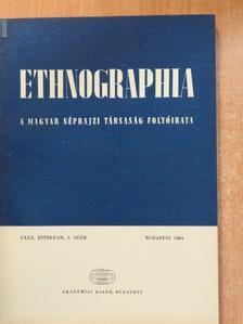 Balogh István - Ethnographia 1969/2. [antikvár]