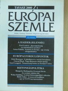 Adolf Wala - Európai Szemle 2000/1.Tavasz [antikvár]