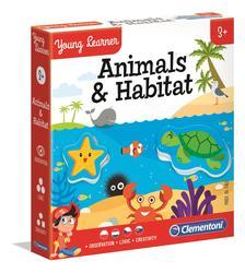 Clementoni - Állatok és élőhelyeik oktatójáték