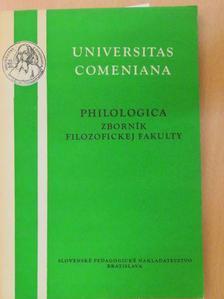Dr. Csanda Sándor - Philologica [antikvár]